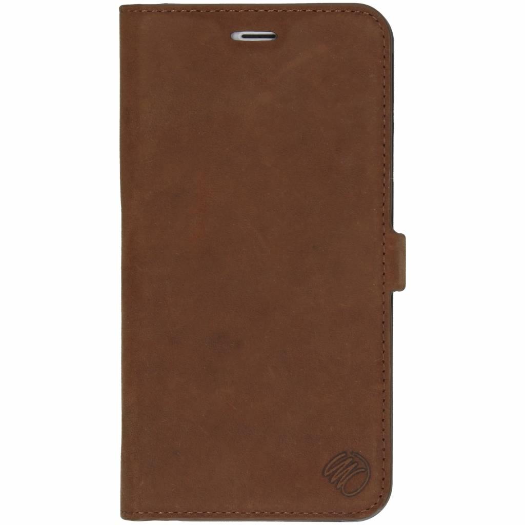iMoshion Bruine Suède Booklet Case voor de iPhone 6(s) Plus