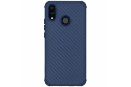 Huawei P20 Lite hoesje - Xtreme Carbon Backcover voor