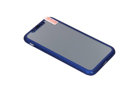 iPhone Xr hoesje - 360° Effen Protect Backcover