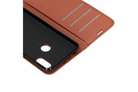 Xiaomi Redmi Note 6 Pro hoesje - Basic Litchi Booktype voor