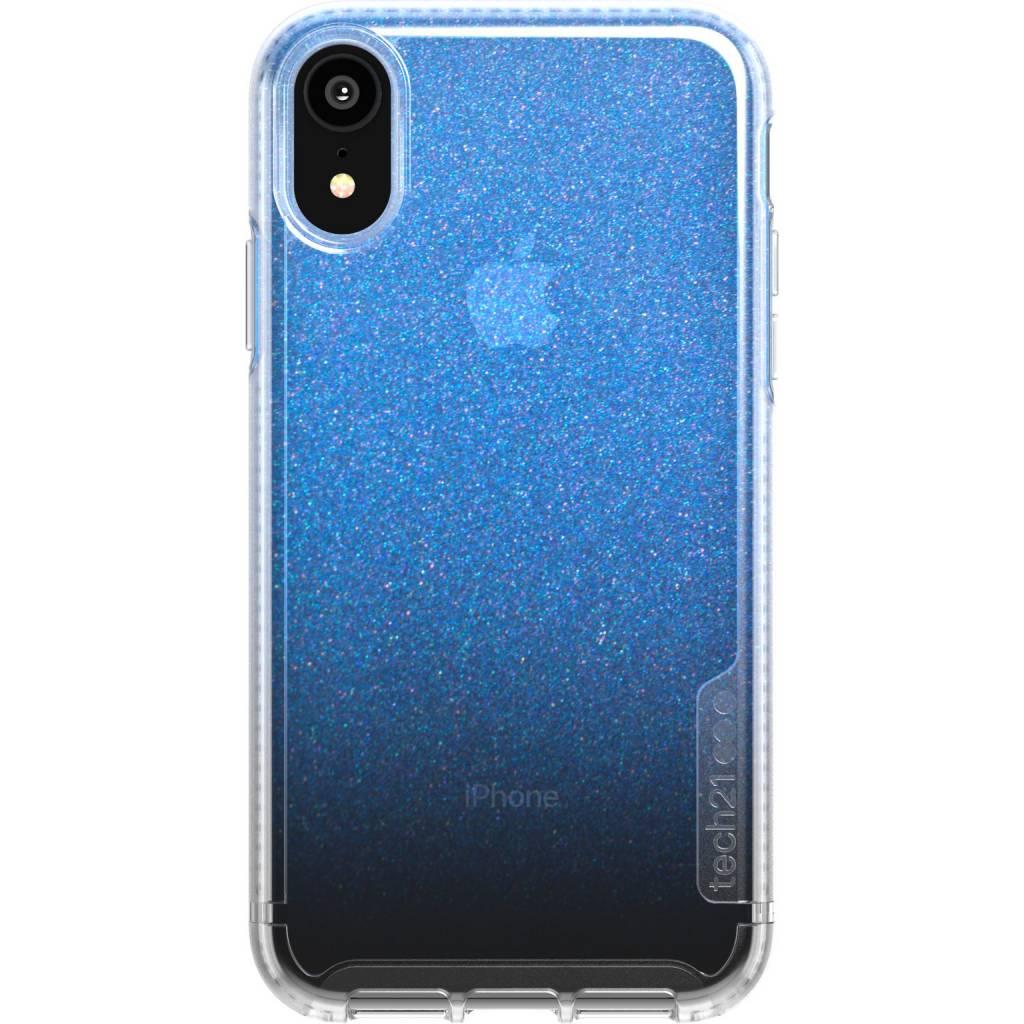 Tech21 Blauwe Pure Shimmer voor de iPhone Xr