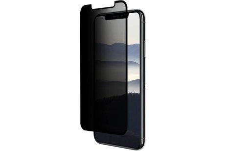 Eiger Privacy Glass Screenprotector voor iPhone X / Xs - Zwart