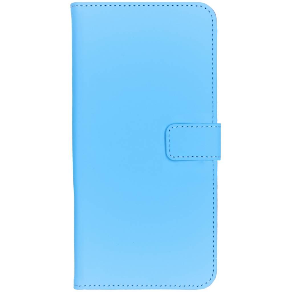 Selencia Luxe Softcase Booktype voor Samsung Galaxy A9 2018 - Blauw