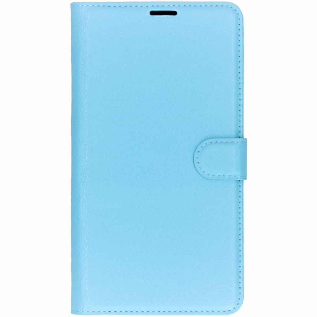 Blauwe litchi booktype hoes voor de Xiaomi Mi Max 3