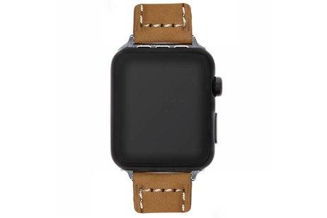 Suède bandje voor de Apple Watch 44 mm / 42 mm