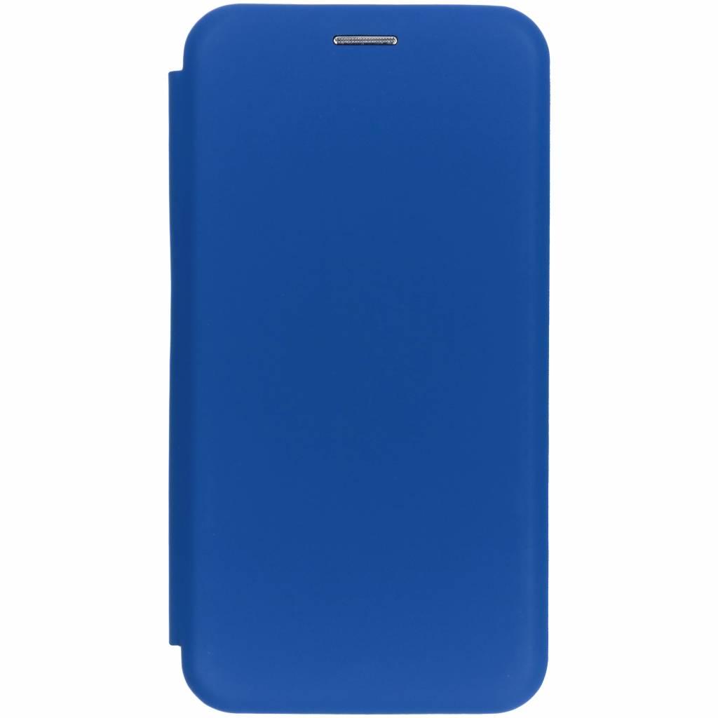 Blauwe slim folio color case voor de iPhone Xr