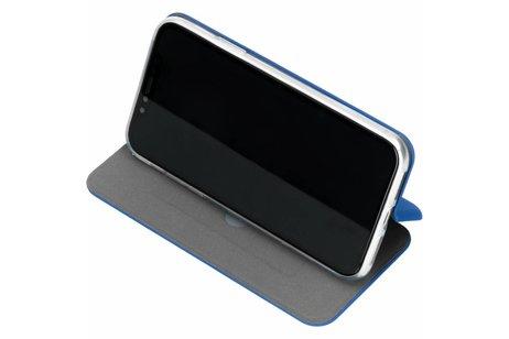 Slim Folio Color Booktype voor iPhone Xr - Blauw