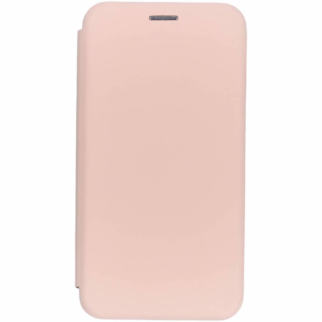 Oudroze slim folio color case voor de iPhone Xr