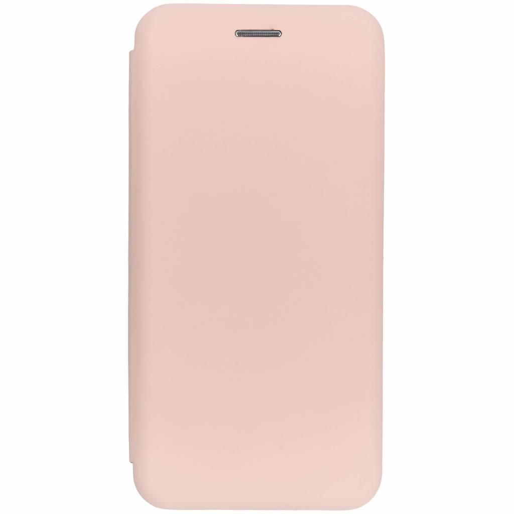Oudroze slim folio color case voor de Huawei P20 Lite