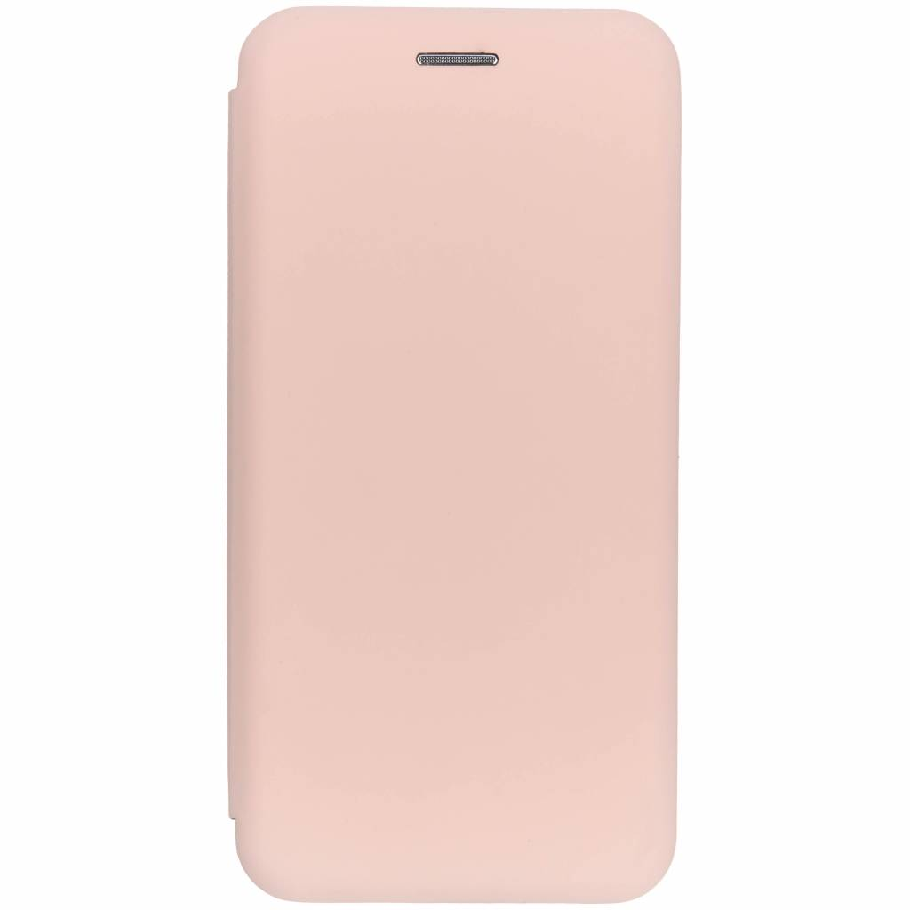 Slim Folio Color Booktype voor Huawei P20 Lite - Lichtroze