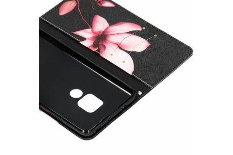 Huawei Mate 20 hoesje - Design Softcase Booktype voor