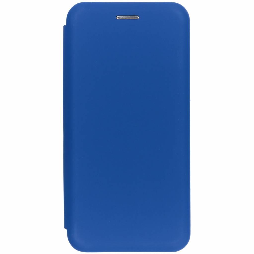 Blauwe slim folio color case voor de Samsung Galaxy A8 (2018)