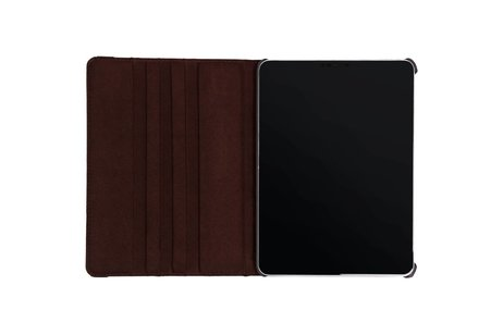 360° Draaibare Bookcase voor iPad Pro 11 - Bruin