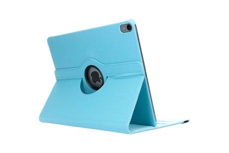 360° Draaibare Bookcase voor iPad Pro 12.9 (2018) - Lichtblauw