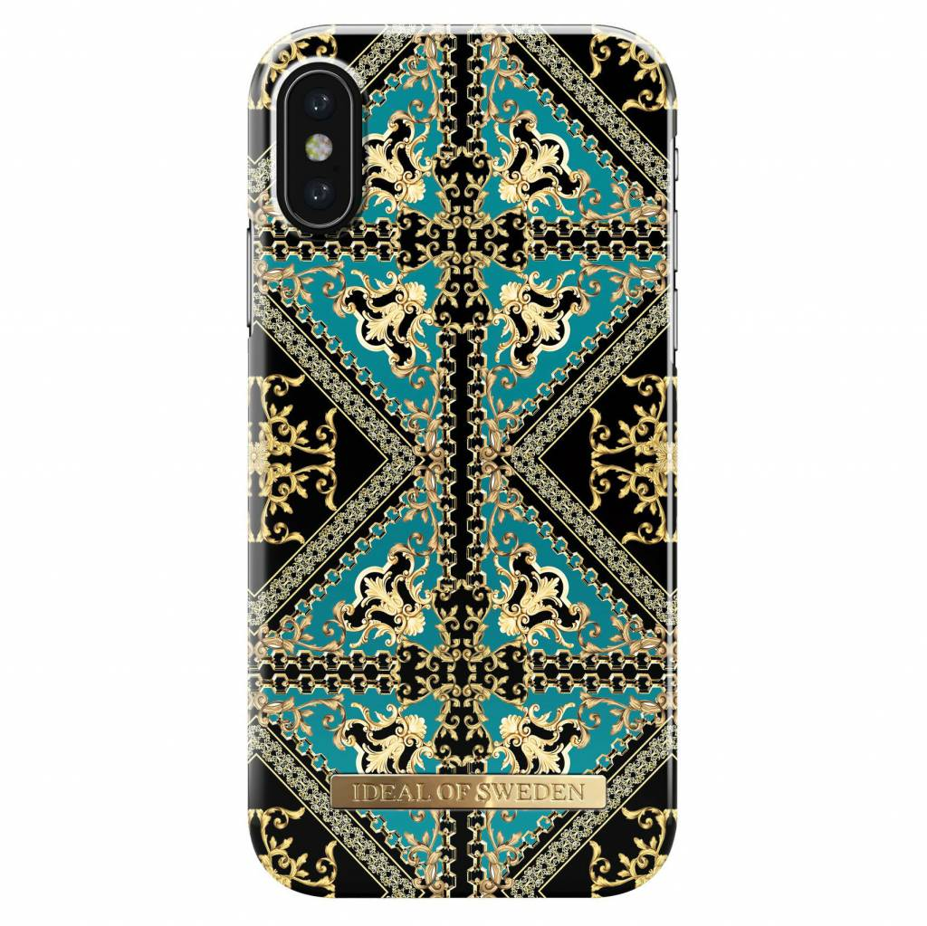 iDeal of Sweden Fashion Backcover voor iPhone X / Xs - Baroque Ornament