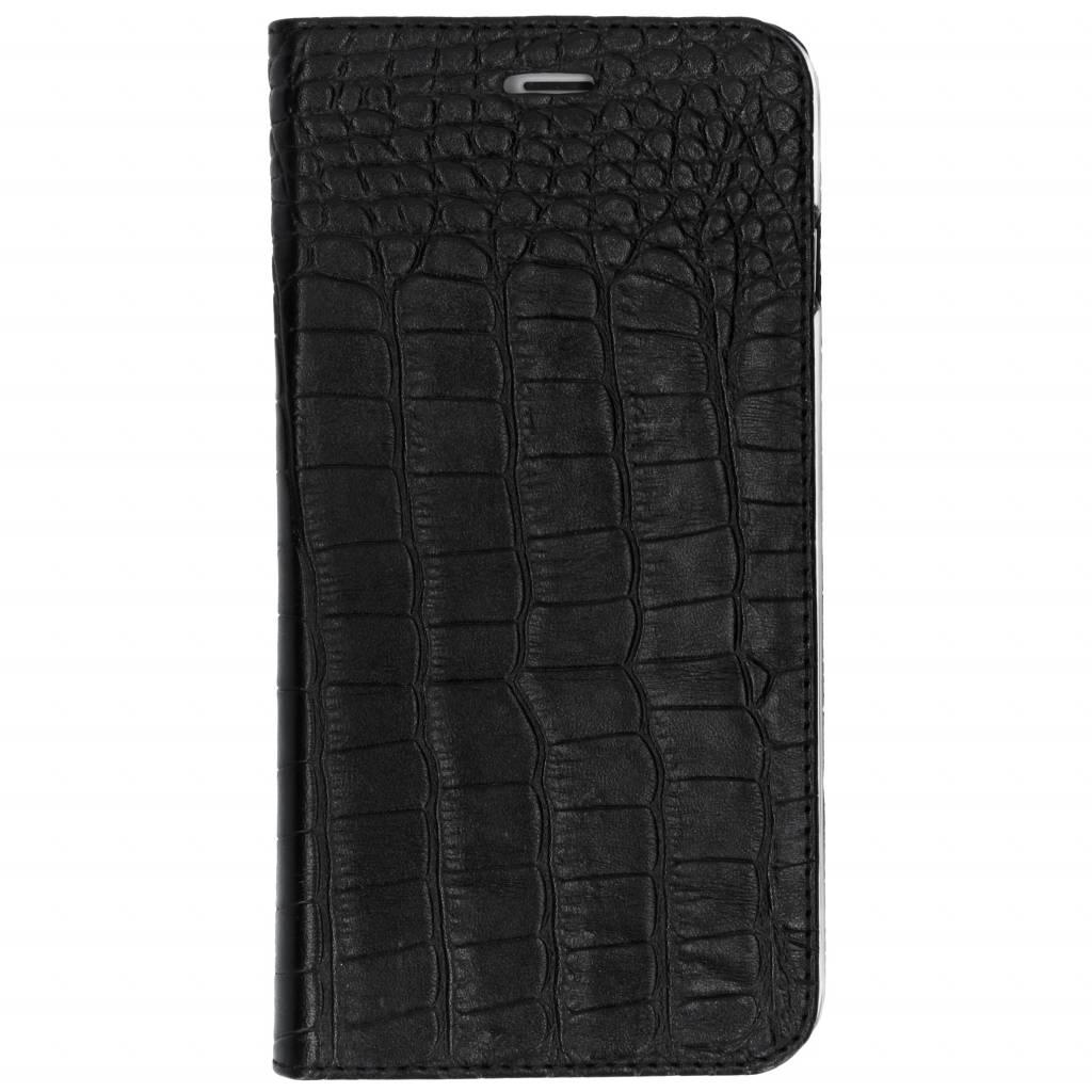 Valenta Croco Zwarte Booklet Classic Style voor de iPhone 8 Plus / 7 Plus