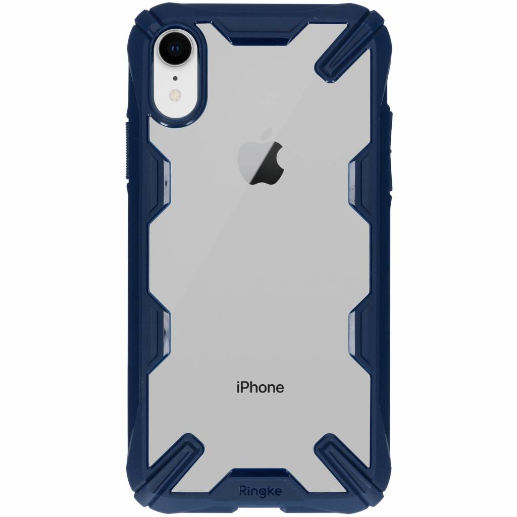 Ringke Blauwe Fusion X Case voor de iPhone Xr
