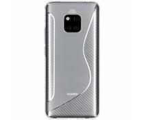 Transparant S-line TPU hoesje Huawei Mate 20 Pro