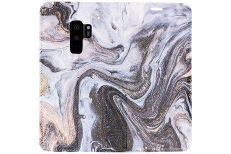 Samsung Galaxy S9 Plus hoesje - Design Hardcase Booktype voor