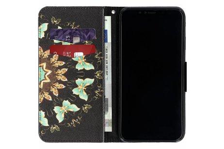iPhone Xs Max hoesje - Design Softcase Booktype voor