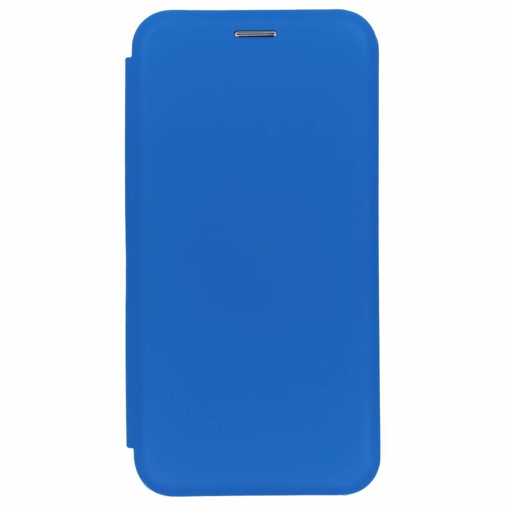 Blauwe slim folio color case voor de Samsung Galaxy A7 (2018)