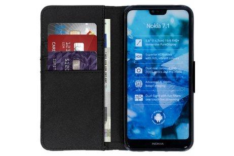 Nokia 7.1 hoesje - Design Softcase Booktype voor
