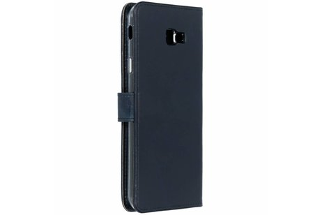 Samsung Galaxy J4 Plus hoesje - Selencia Echt Lederen Booktype