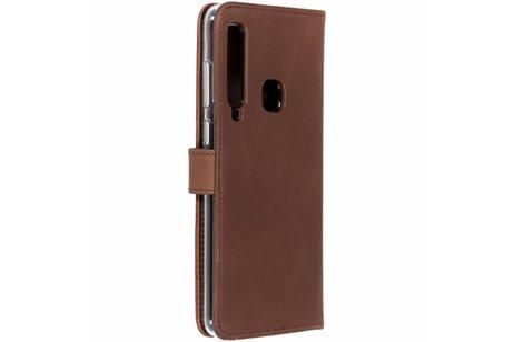 Samsung Galaxy A9 (2018) hoesje - Selencia Echt Lederen Booktype