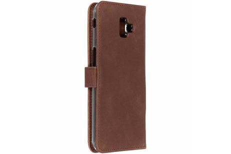 Samsung Galaxy J6 Plus hoesje - Selencia Echt Lederen Booktype