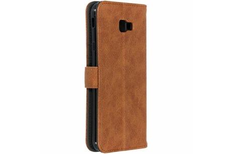 Samsung Galaxy J4 Plus hoesje - Luxe Lederen Booktype voor