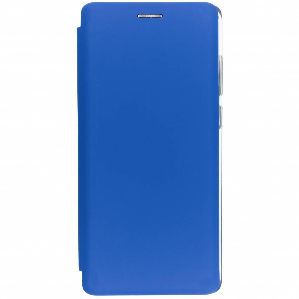 Slim Folio Color Booktype voor Samsung Galaxy A9 (2018) - Blauw