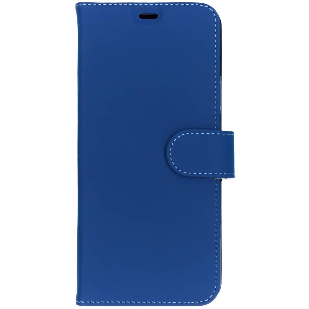 Accezz Wallet Softcase Booktype voor Huawei Mate 20 Pro - Donkerblauw