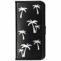 Palmboom Softcase Booktype Huawei P Smart - Zwart