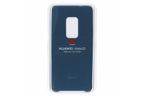 Huawei Mate 20 hoesje - Huawei Silicone Car Backcover