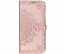Roze mandala booktype hoes Huawei P Smart (2019)