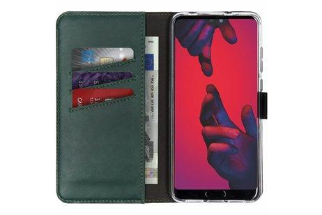Huawei P20 Pro hoesje - Selencia Echt Lederen Booktype