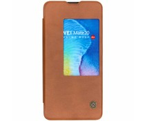 Nillkin Qin Leather Slim Booktype Huawei Mate 20