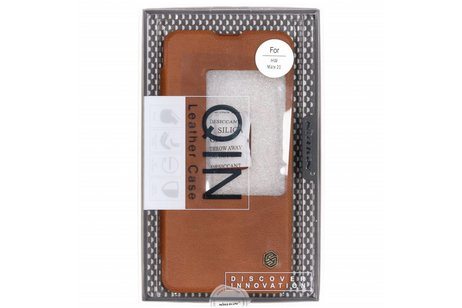 Nillkin Qin Leather Slim Booktype voor Huawei Mate 20 - Bruin