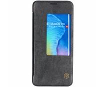 Nillkin Zwart Qin Leather Slim Booktype Huawei Mate 20 Pro