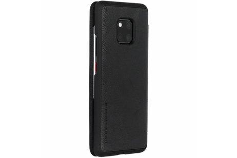 Nillkin Qin Leather Slim Booktype voor Huawei Mate 20 Pro - Zwart