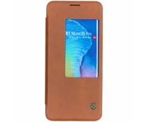 Nillkin Bruin Qin Leather Slim Booktype Huawei Mate 20 Pro