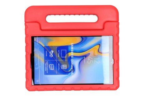 Kidsproof Backcover met handvat voor Samsung Galaxy Tab A 10.5 (2018) - Rood