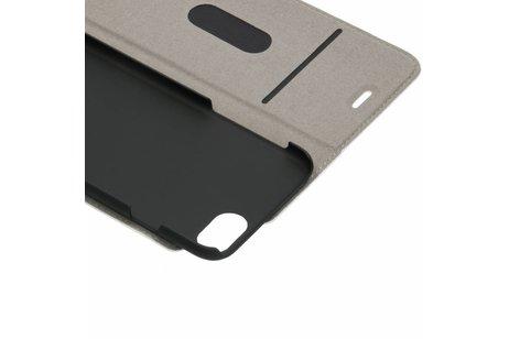 Design Hardcase Booktype voor iPhone 8 / 7 - Cubes Rose Gold