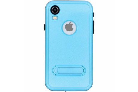 Redpepper Dot Plus Waterproof Backcover voor iPhone Xr - Blauw