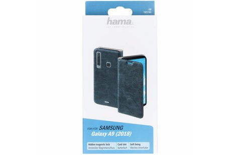 Hama Guard Booktype voor Samsung Galaxy A9 (2018) - Blauw
