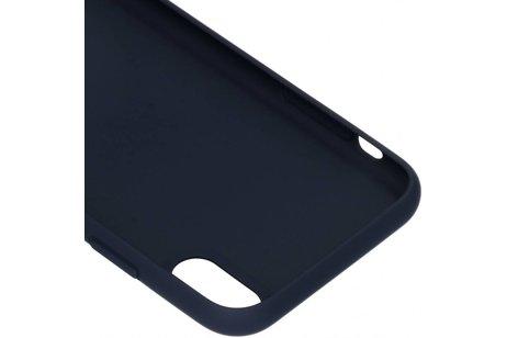 Black Rock The Statement Backcover voor iPhone Xr - Blauw