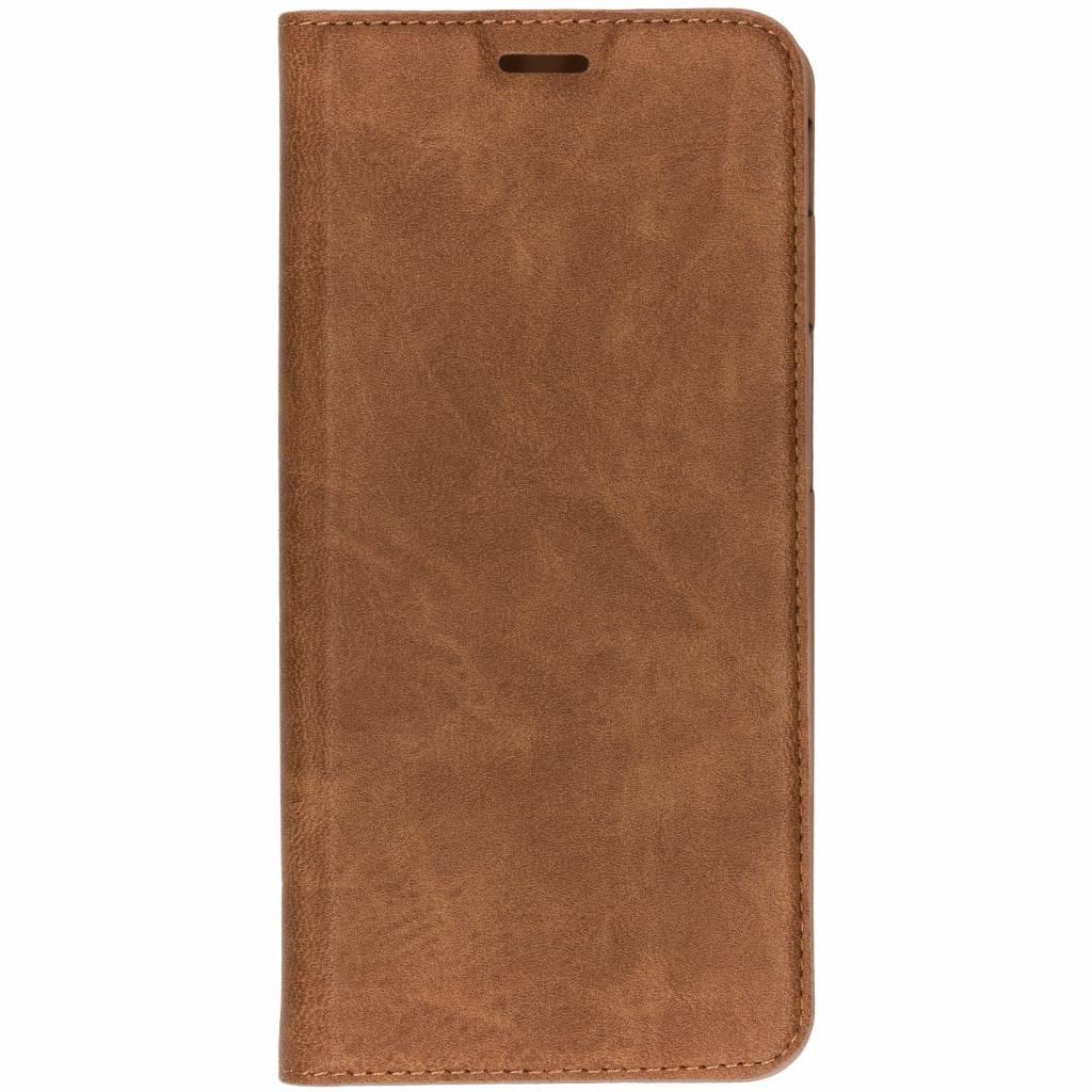Hama Bruine Guard Booklet Case voor de Samsung Galaxy J6 Plus