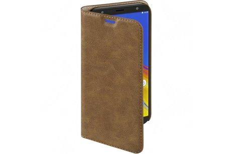 Hama Guard Booktype voor Samsung Galaxy J6 Plus - Bruin