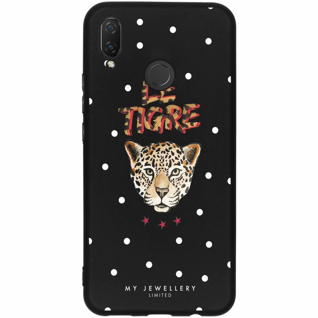 My Jewellery Design Backcover voor Huawei P Smart Plus - Le Tigre