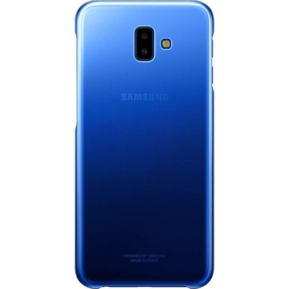 Samsung Gradation Backcover voor Samsung Galaxy J6 Plus - Blauw